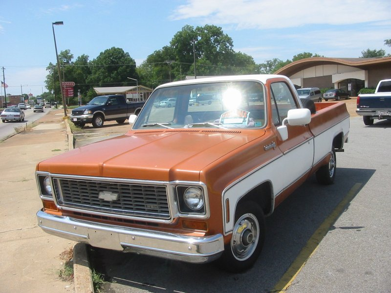 Motes blog: 73 chevy truck