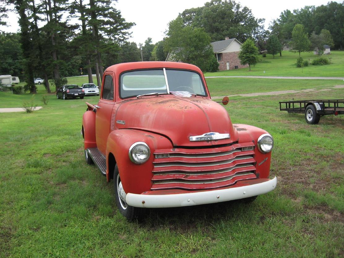 Vintage Chevy Truck Pickup Searcy Ar 1954 4x4 For Sale 1952 Pu