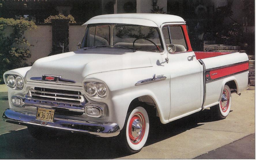 Chevy 1959 59 Light Duty Trucks