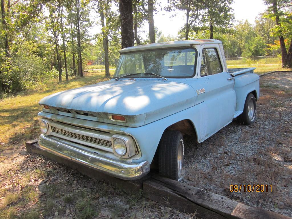Vintage Chevy Truck Pickup Searcy Ar 1949 4x4 1966 Pu