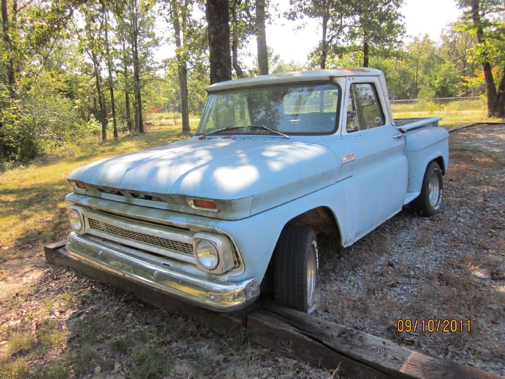 Vintage Chevy Truck Pickup Searcy Ar 1966 C10 Fleetside Pu