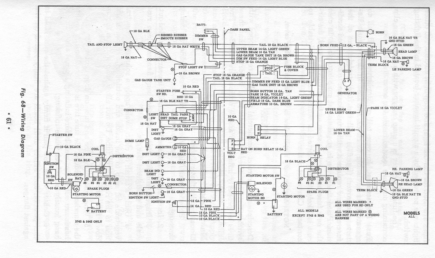 ChevyTruck 1954OperatorsManual_wiring_61 chevy truck 1965 c10 operator's manual index 83 chevy truck wiring diagram at fashall.co
