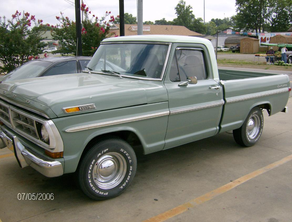 1/25 scale 1971 Ford F100 Ranger &quot-farm truck&quot- - YouTube