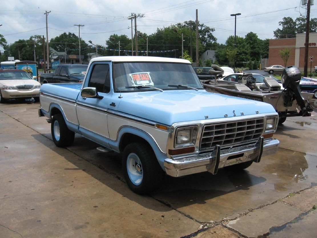 Vintage Ford Truck Pickups Searcy Ar 1953 Econoline Pickup 1978 F 150 Pu