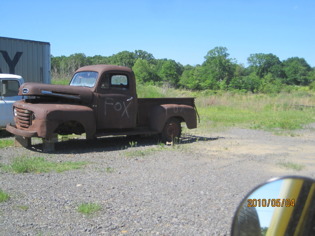 Vintage Ford Truck Pickups Searcy Ar 1948 Panel 194x 50 Pu