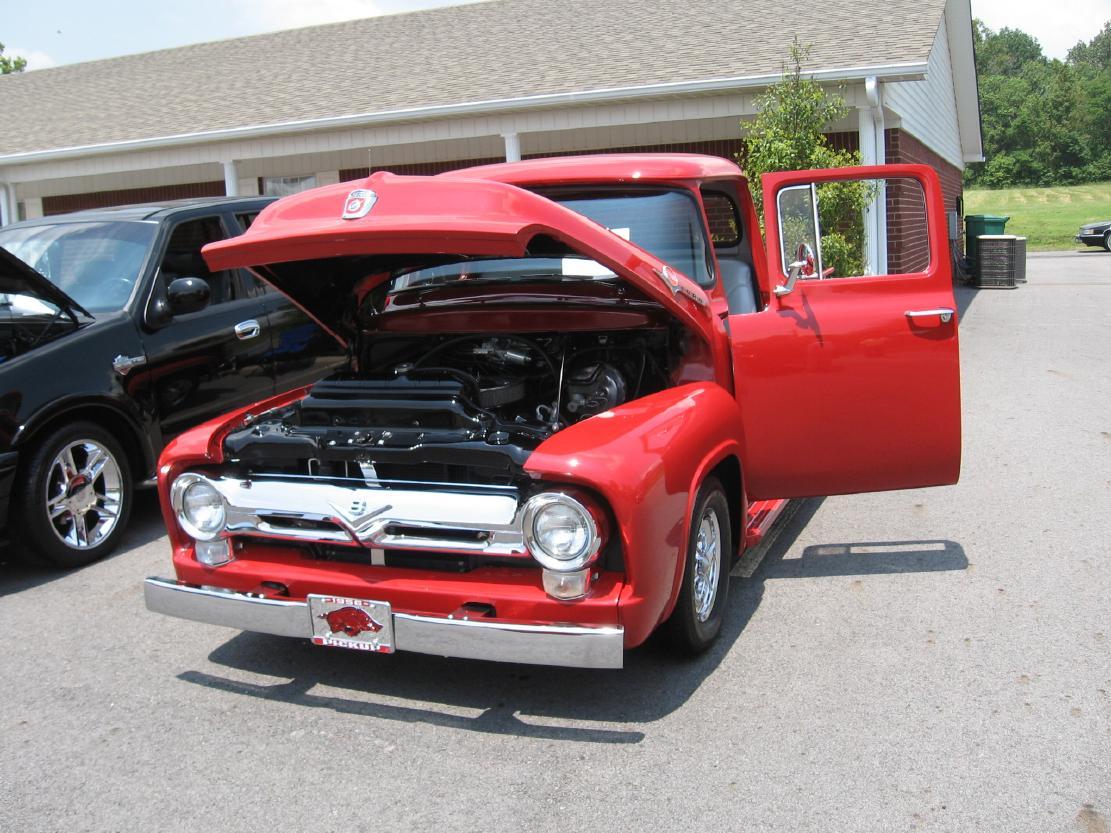 Vintage Ford Truck Pickups Searcy Ar 1954 F600 Dump F0100 Pu