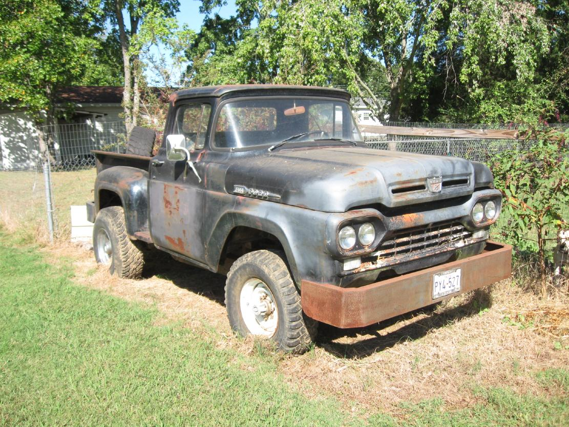 Vintage Ford Truck Pickups Searcy Ar 1980 4x4 Pickup 1960 Pu