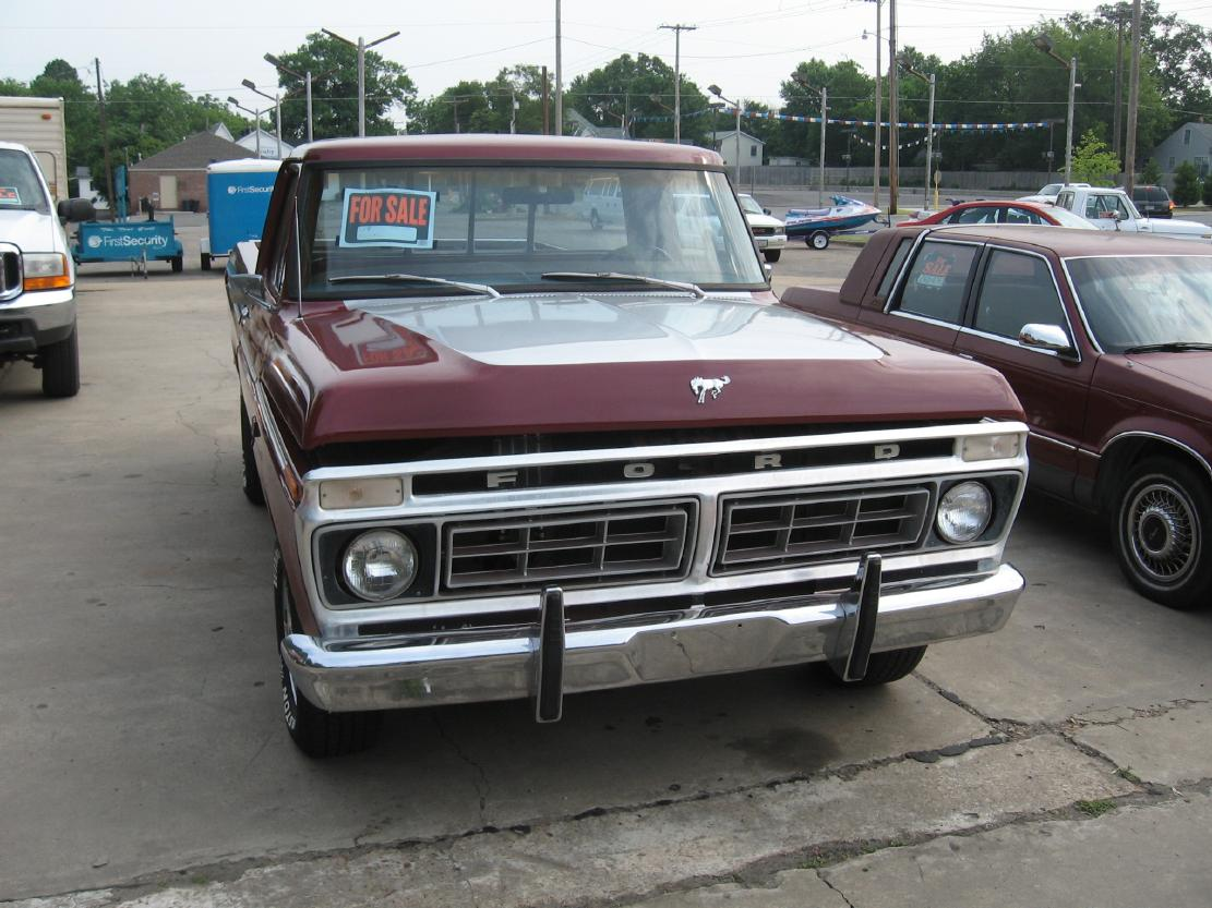 Vintage Ford Truck Pickups Searcy Ar 1955 F250 4x4 1976 F100