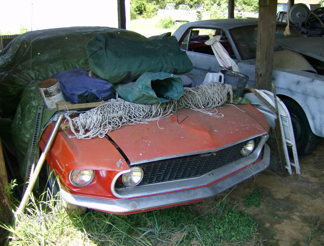 1965 Mustsng, 1969 Mustang