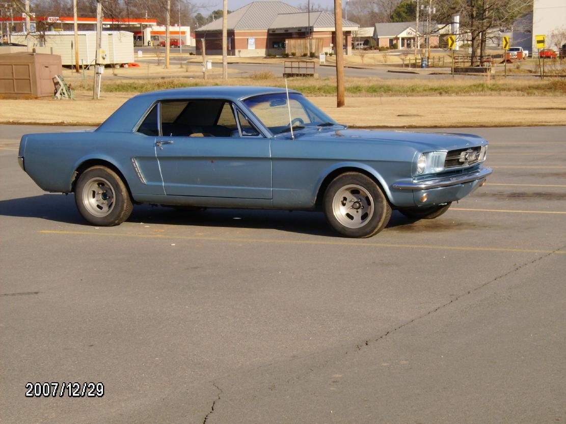Blue Mustang Mustang 196x Blue