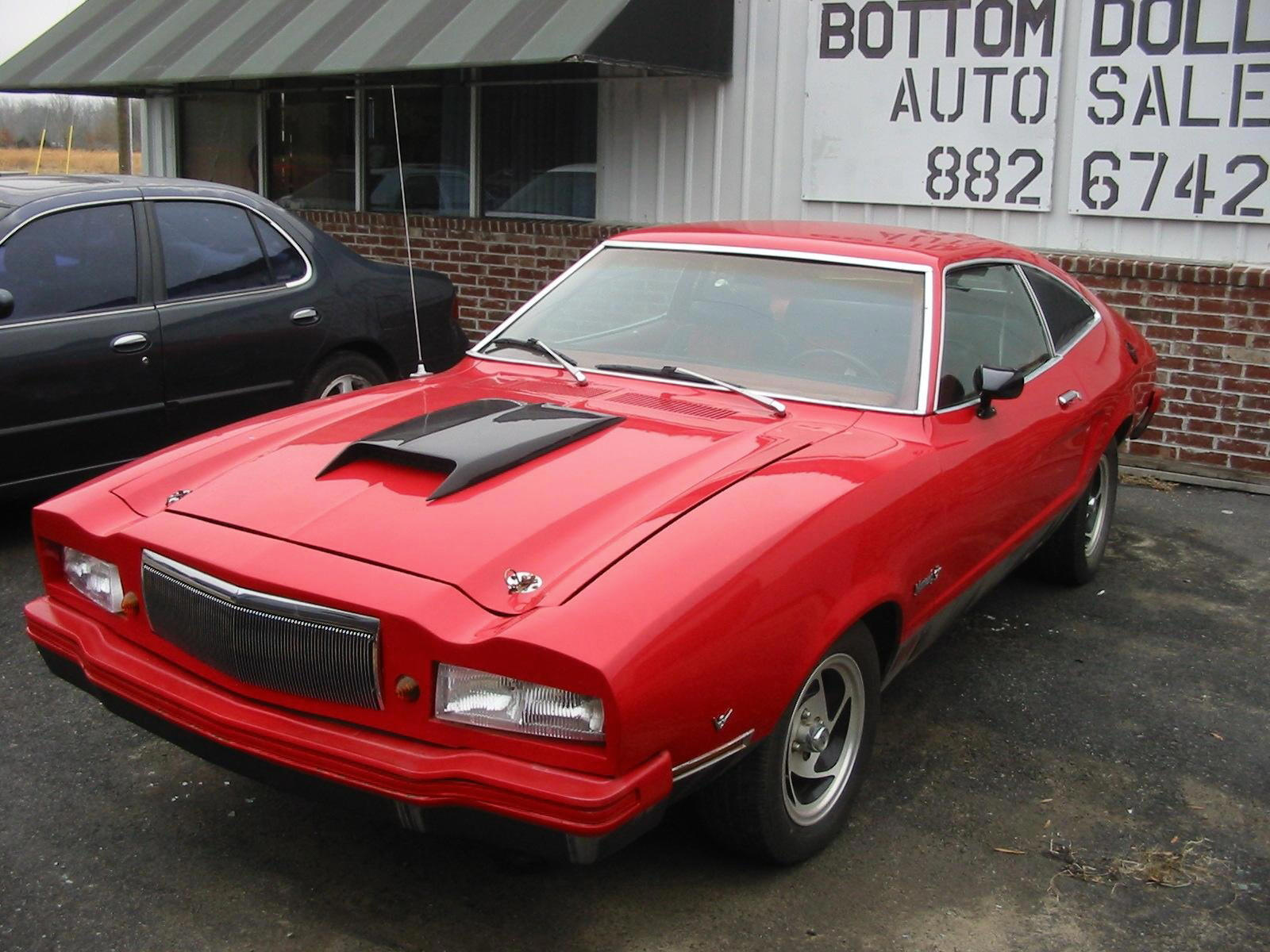 1978 Mustang 2 Mach 1 For Sale