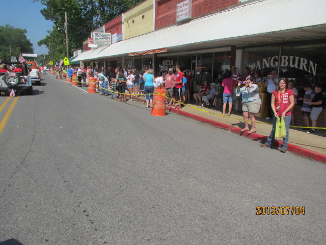 Pangburn Arkansas 4th Of July Parade 2013