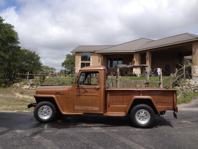 Ranger Ron Benton 1949 Willys Truck San Antonio TX
